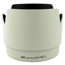 NEW JJC White Flower Tulip Lens Hood for Canon 70-200mm F4L IS USM Replace ET-74