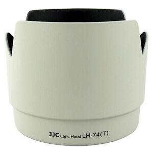 NEW JJC White Flower Tulip Lens Hood for Canon 70-200mm F4L IS USM Replace ET-74