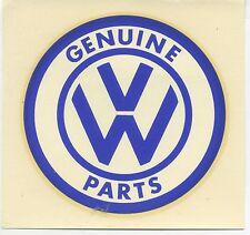 vtg water decal VW genuine Parts Volkswagen Beetle Bug Bus Hot Rod Drag Race