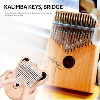 20-Key Kalimba DIY Keys Bridge Set Thumb Piano Musical Instrument Accessory