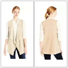 NWT CALVIN KLEIN Womens Plus Faux Suede And Knit Vest Jacket 3X MSRP $119
