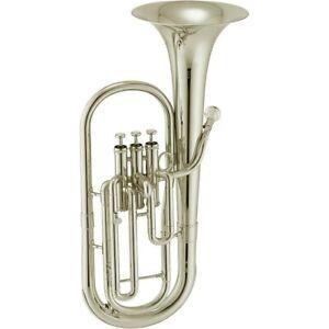 Jupiter JAH700 Series Alto Horn Silver 194744291319 OB