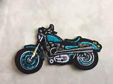 IRON ON PATCH - MOTORBIKE BIKE BIKER HELLS ANGELS RACING TOURING TT CAFE RACER 2