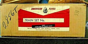 AMERICAN FLYER 1957 20315 KEYSTONE ROCKET BOXED SET 21004 WITH ORIGINAL BOX