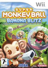 Super Monkey Ball Banana Blitz WII Spiel * in Top Zustand *
