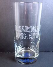 Disaronno Originale tumbler Like to be Tickled base in blue 12 oz