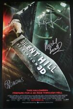 NYCC Comic Con 2012 Silent Hill Revelation 3D Cast Poster Kit Harington SIGNED