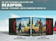 Marvel Deadpool Film Arena Lenticular Blu-ray Steelbook Free Guy Ryan Reynolds