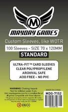 Mayday Boardgame Sleeves Tarot Card Sleeves - 70mm x 120mm (100) MINT