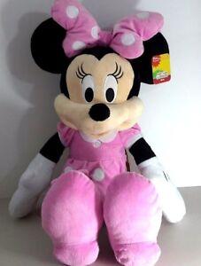 "Disney Minnie Mouse New 24"" XLG Disney Junior Mickey Mouse Playhouse Plush NWT"