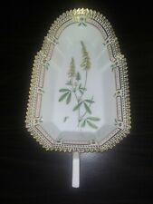 New ListingVintage Flora Danica Royal Copenhagen Porcelain Botanical Lg Pickle Dish w Gilt