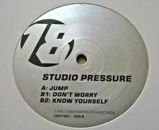 Studio Pressure - Jump - Certificate 18 – CERT1803 - Ltj Bukem Grooverider