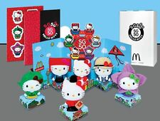 BNIB McDonald Macdonald  SG50 Singapore Golden Jubilee Hello Kitty collector set