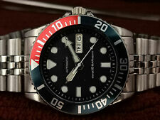 SEIKO SUBMARINER DIVER 7S26-0040 SKX033K 10 BAR AUTOMATIC MEN'S WATCH S.N 761390