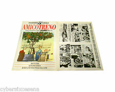 NICK RAIDER su AMICO TRENO n. 2 del 1996 primo episodio con rivista
