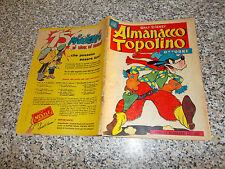 ALMANACCO TOPOLINO 1956 N.39 MONDADORI WALT DISNEY (SI TRATTA DEL N.1) BUONO