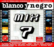 CDx3 - BLANCO Y NEGRO MIX 7 - VARIOUS ARTISTS (DANCE) PRECINTADO - BOX SEALED