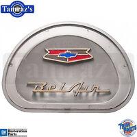 1957 Chevy Bel Air Steering Wheel Horn Cap Center Assembly Emblem Insert USA