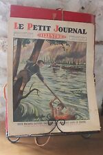 Petit journal illustré N°1921 1927 Sauvetage d'une femme dans le Rhone