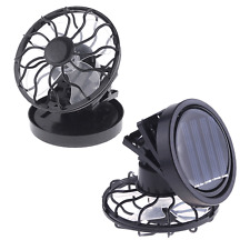 Clip-on Solar Cell Fan Sun Power Energy-saving Panel Portable Cooling Cooler