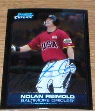 Orioles Nolan Remold RC Autographed Card