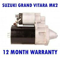 Suzuki Grand Vitara MK2 Mk II 2005 2006 2007 2008 2009 - 2015 Démarreur Moteur