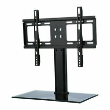 """26-32"""" Universal Tabletop TV Stand Pedestal Base Wall Mount for LCD LED TV Black"""