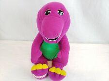 "16"" Barney Plush Dinosaur Talking Interactive Vtg 90s Stuffed Animal Toy"