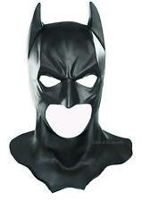 BATMAN MASK Cowl Adult Full Overhead Deluxe Heavyweight mask Rubies Costume New