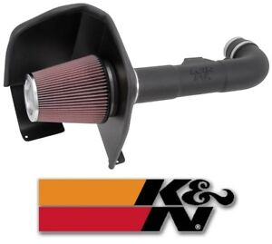 K&N FIPK Series Air Intake System for 2014-2018 Chevy GMC Cadillac V8 Vehicles