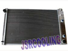 2 ROW Performance Aluminum Radiator fit for 1981-1991 CHEVY GMC PICKUP AT MT New