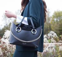 MELI MELO ORNELLA Tote Bag in Black MSRP $695 made in ITALY  ICON BAG