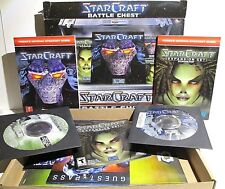 StarCraft Battle Chest by Blizzard Entertainment 2 CD-Rom video game