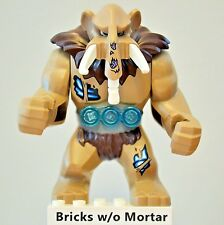 New Genuine LEGO Mungus Mammoth Minifig Legends of Chima 70144