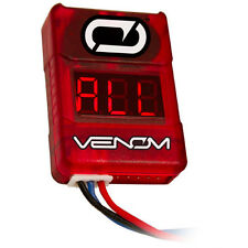 VENOM 0644 Low Voltage Alarm / Monitor / Checker For 2S To 8S LIPO Batteries