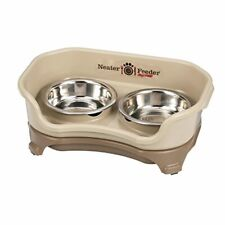 Neater Feeder Express Elevated Dog and Cat Bowls - Raised Pet Dish - Stainless S
