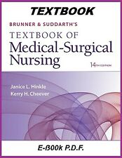 Brunner and Suddarth's Medical Surgical Nursing 14th Edition Textbook