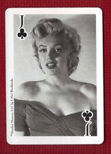 MARILYN MONROE Star Playing Card Jack of Clubs CMG Worldwide