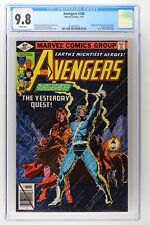 Avengers #185 - Marvel 1979 CGC 9.8 Origin of Quicksilver and Scarlet Witch. Mod
