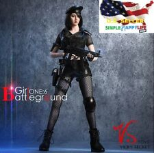 """1/6 Tactical Camouflage Combat Clothing Set B w/ Glove Hands For 12"""" PHICEN❶USA❶"""