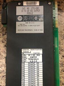 Allen Bradley output module 1771-0BD