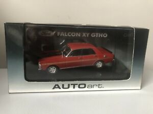 1/43 BIANTE AUTOART FORD FALCON XY GT GTHO PHASE 3 TRACK RED