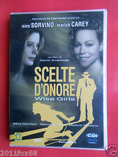 dvd dvds film mariah carey scelte d'onore wise girls mira sorvino melora walters