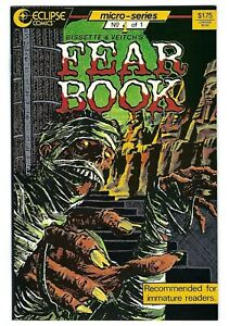 Eclipse Comics FEAR BOOK #1 first printing Steve Bissette & Rick Veitch