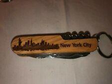 "TSA CONFISCATED SWISS ARMY STYLE POCKET KNIFE ""NEW YORK CITY / NICK"""