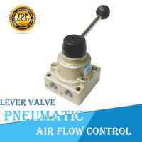 HV-200D/VH-200-02 Pneumatikventil G1/4 3 Position Luftsteuerungsventil