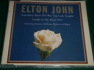 Elton John - Princess Diana Tribute Candle In The Wind CD Single  (3 Tracks)
