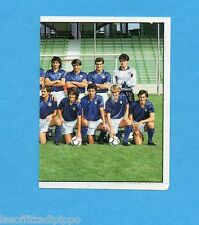 PANINI CALCIATORI 1989/90 -Figurina n.556- SQUADRA DX - ITALIA -Recuperata