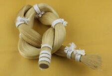 500 g Mongolian White Horse Tail Hair in bulk Violin Bow hair 80-85cm