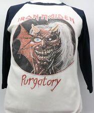 1981 Iron Maiden Purgatory Tour Raglan Baseball Tee